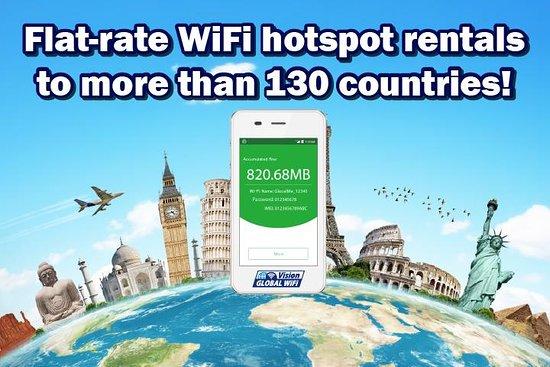 WiFi rental around world - Vision Global WiFi