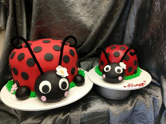 Fantastic Ladybug Birthday Cake And Smash Cake For Your Little Ones First Personalised Birthday Cards Sponlily Jamesorg