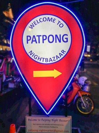 Patpong Night Market Night Bazaar Nighlife Bangkok