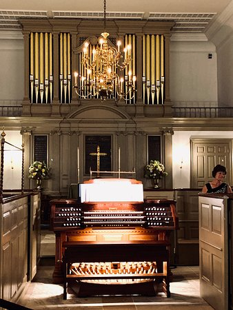 Organ concert  Demonstrated the abilities of the new pipe organ.