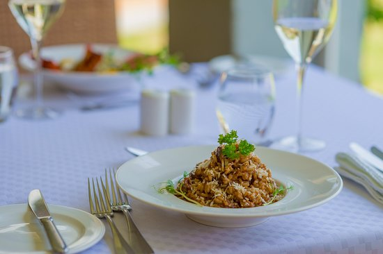 Lilayi Lodge: Risotto with Beef Short-Rib & Shitake