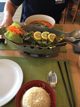 Genuine Thai food