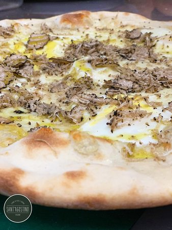 La Nobile - tartufo fresco, uova  quaglia e mozzarella