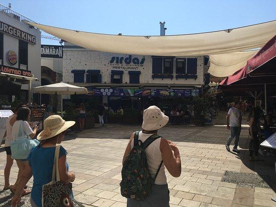 Sirdas Cafe & Restaurant:  View