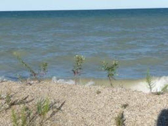 Zion, IL: Lake Michigan at IL Beach State Park