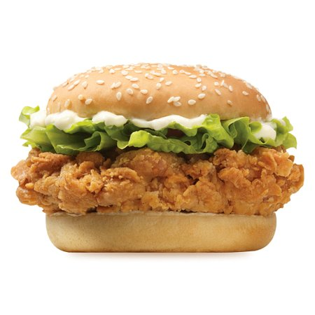 Hotouch Burger Crispy/Spicy/Juicy Chicken Fillet with Fresh Ice Berg