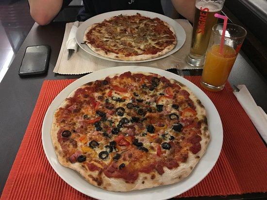 Erg lekkere pizza's