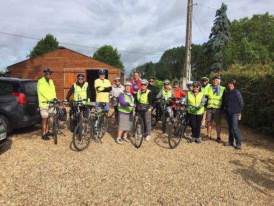 Parcay-les-Pins, Francia: Ready for a days biking
