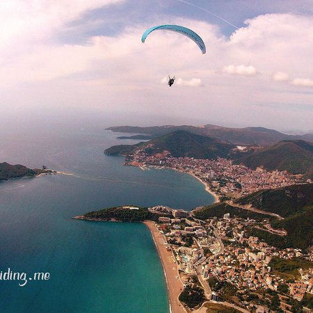 Becici Paragliding Montenegro
