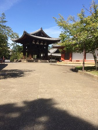 Outside The Temple
