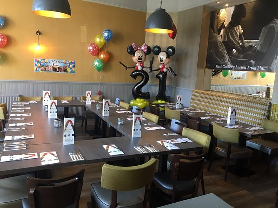 Razias: SPACIOUS PRIVACY SECTION & BANQUET MENU available for special occasions