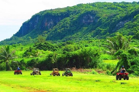 Saipan ATV Off Road Jungle Tour