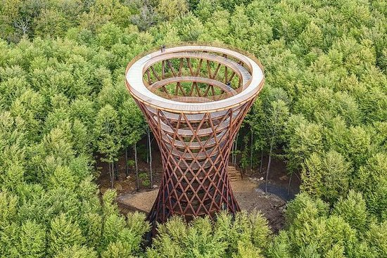 Kopenhagen naar Forest Tower Tour ...
