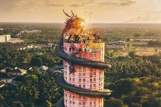 Increíble templo del dragón, paseo en...