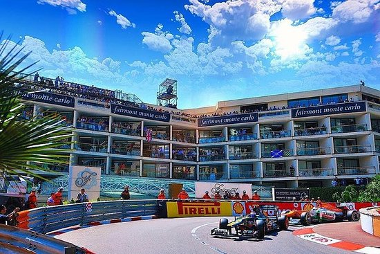 Formel-1-Rundgang durch Monaco - Die...