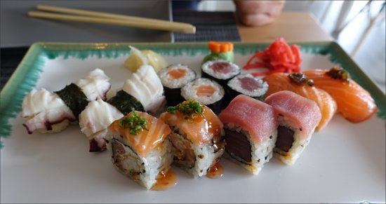 Venda do Pinheiro, Portugal: Sushi