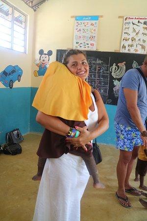 Kumba Urembo, Tanzania: a scuola