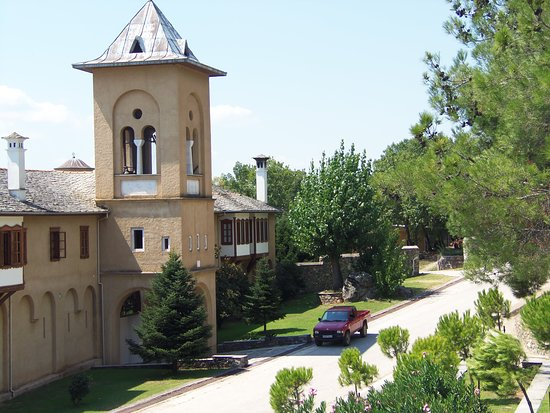 Akritochori, Hellas: Колокольня монастыря