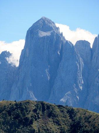 Monte Agner: Il famoso spigolo dell'Agner da Malga Stia