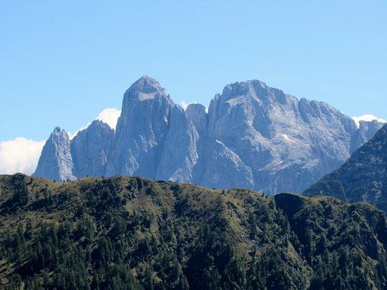 Monte Agner: Il gruppo dell'Agner da Malga Stia