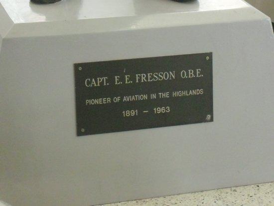 Capt E E Fresson OBE Statue