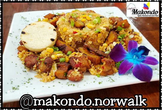 Weekend Special: Our Authentic Version of Fried Colombian 🇨🇴 Rice (pork belly, sausage, steak, sweet plantain, egg, vegetables, sweet corn)  Especial del Fin de Semana: Nuestra version de Arroz Paisa!!
