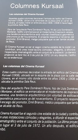 Columnas Del Kursaal Reus 2019 All You Need To Know