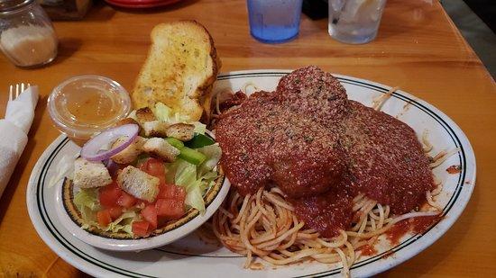 Biwabik, MN: Homemade Spaghetti