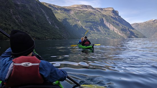 2 Day Geirangerfjord Kayak Adventure: Second day on the way back