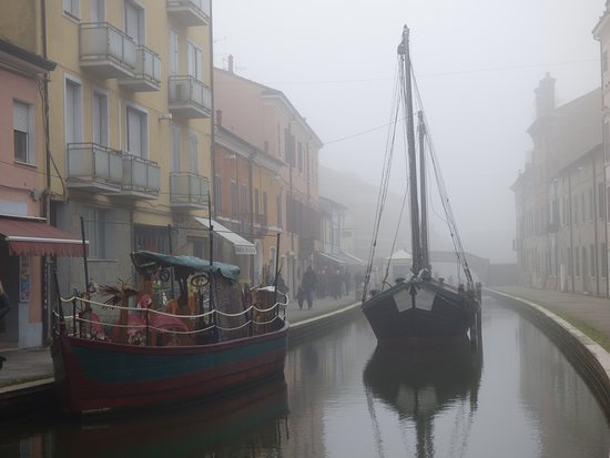 Comacchio, Little Venice. Beautiful Italy.