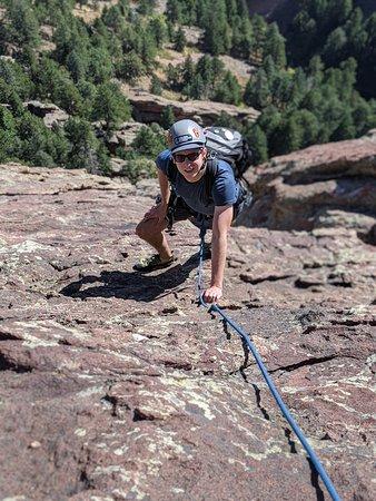 Epic Flatirons Climbing