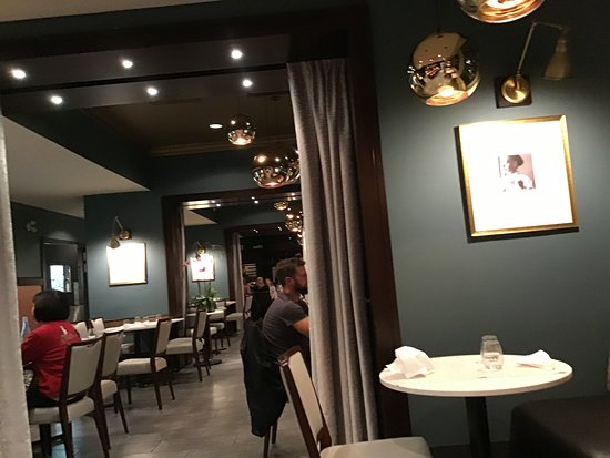 Restaurant Ambience Picture Of Blue Hat Bistro At Pacific Institute Of Culinary Arts Vancouver Tripadvisor