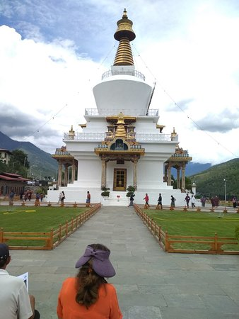 Temple built by Queen Mother