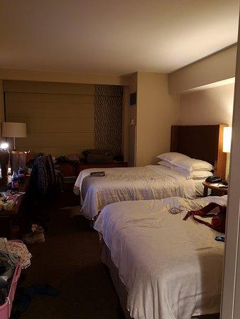 chambre 2 lits queen