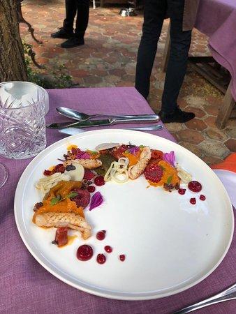 Délicieux déjeuner en terrasse
