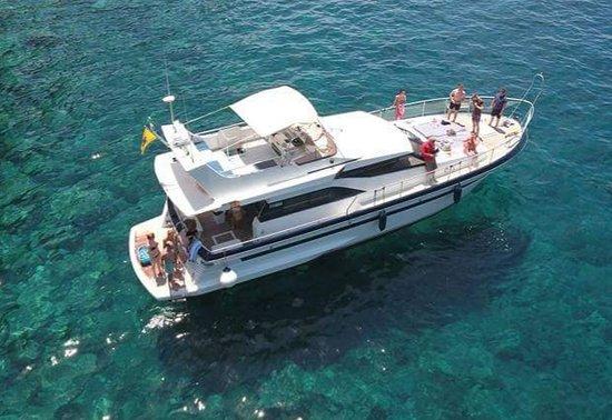 Blue M Boat Trips Puerto de Mogan