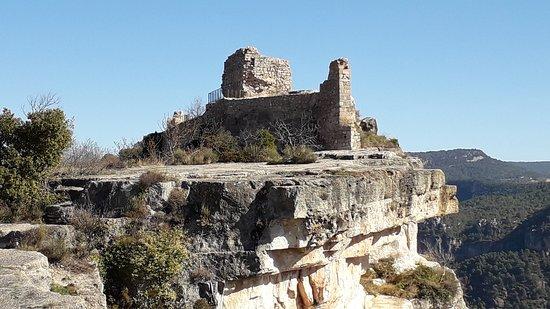 Restos del Castillo árabe de Siurana