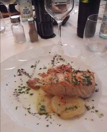 Sant Marti Vell, Spania: le saumon.....