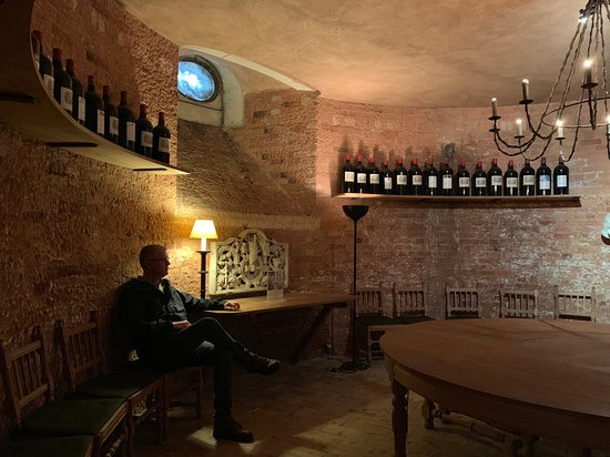 Waddesdon Manor - A Rothshild French Chateau Estate In England Private Tour: Wine Cellar