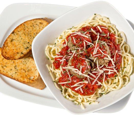 Ledo Pizza: Spaghetti WITH MEAT BALLS