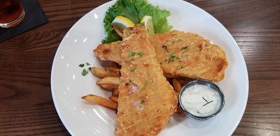 Esparto, Californie : Ravine on 16 fish and chips