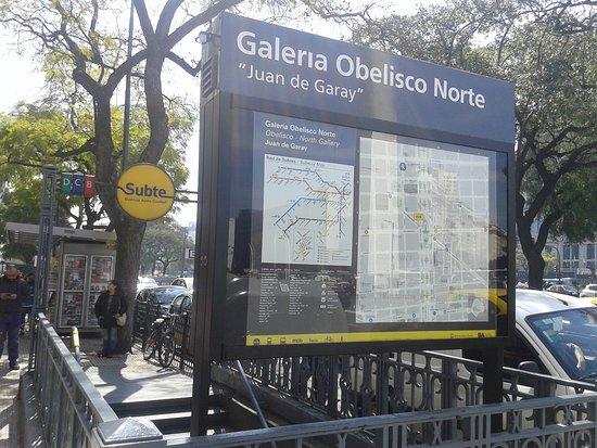 Galeria Obelisco Norte Juan de Garay