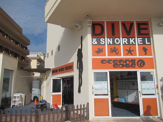 Come and visit us in our dive center in Sa Coma