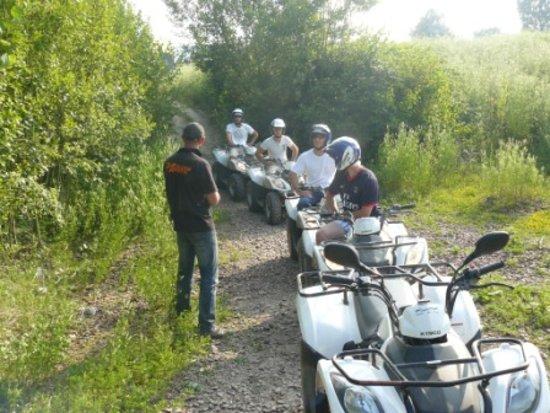 Noeux-les-Mines, Frankrijk: sortie quad sur le circuit de noeux les mines