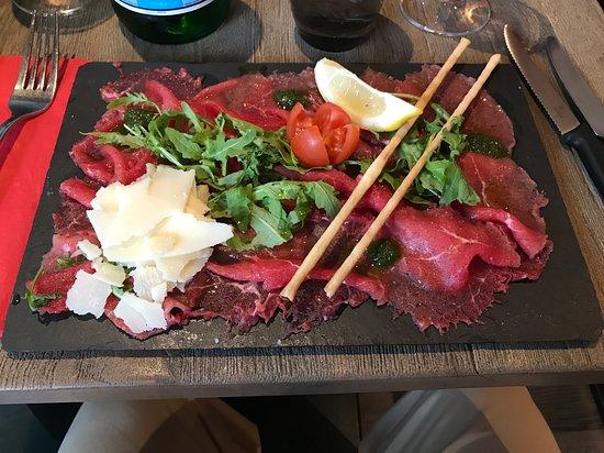 Il Brigantino : Carpaccio de bœuf