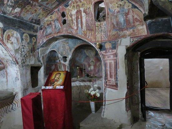 Kalista, Makedonia: Makedonija: Kališta - Höhlenkirche Sv Bogorodica