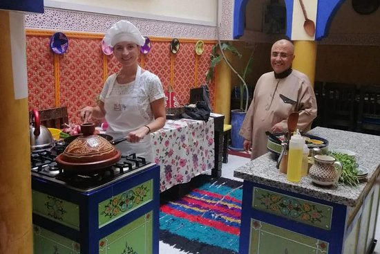 Moroccan Cooking Classes at Dar Chef