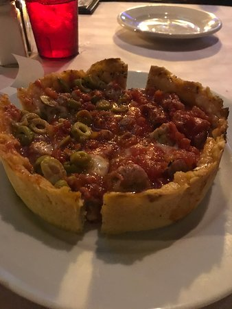 First introduction to Chicago deep dish
