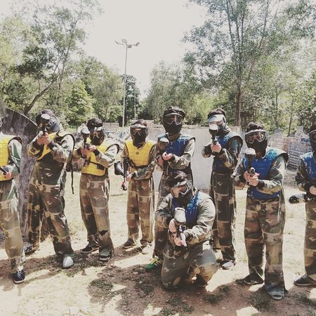 Dynamic Paintball
