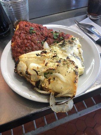 Piza espectacular, El Imperio de la Pizza en Chacarita. Caba. Rep. Argentina.